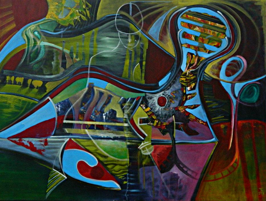 akryl-płótno, 120 x 90 cm
