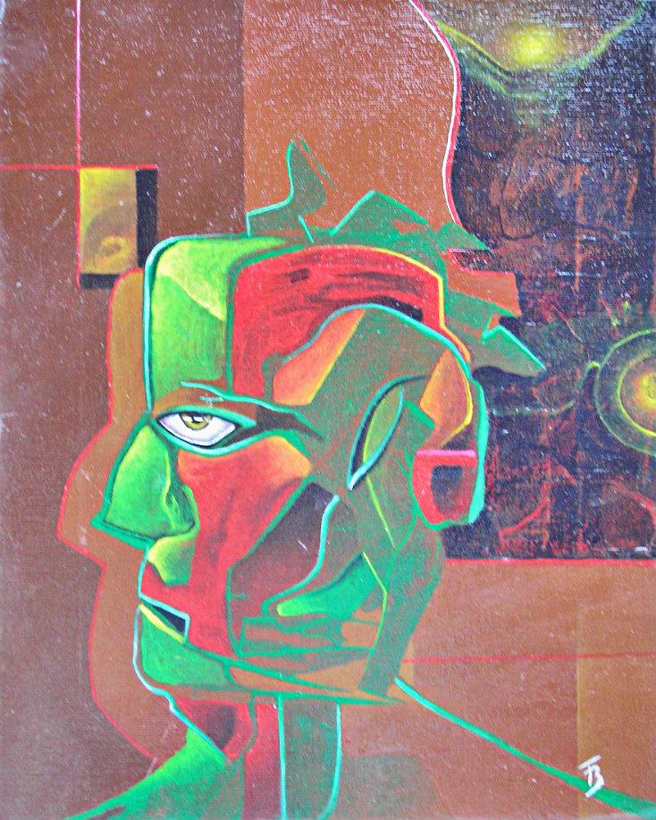 akryl-płótno, 20 x 30 cm