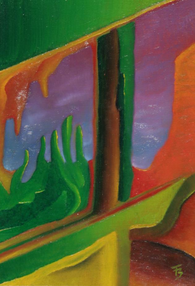 akryl-płótno, 21 x 30 cm