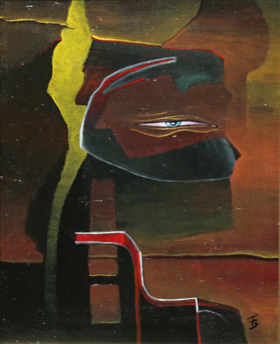 akryl-płótno, 24 x 30 cm