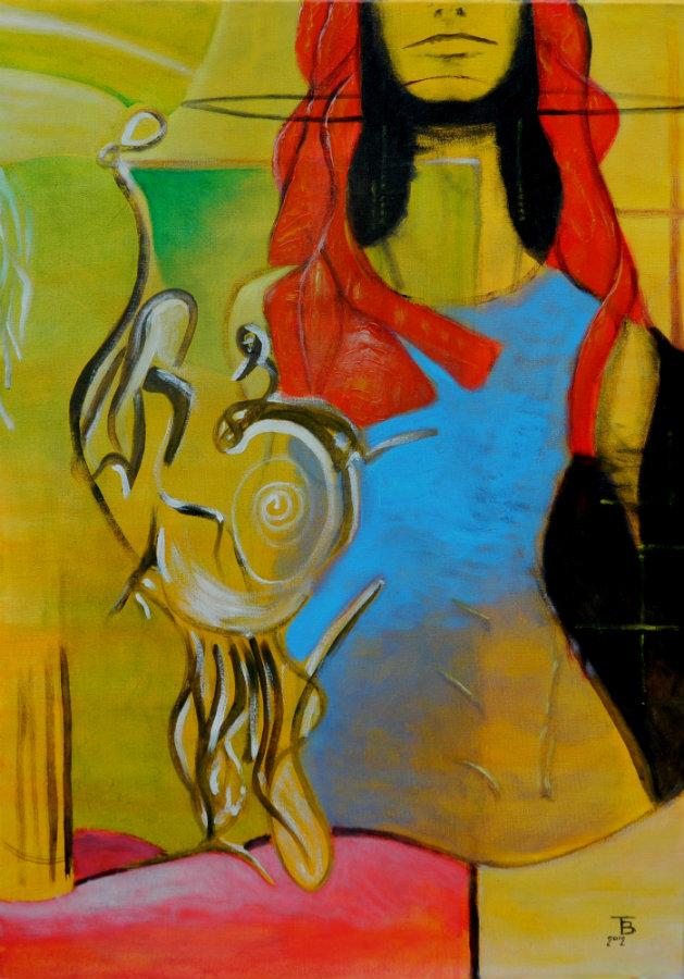 akryl-płótno, 38 x 55 cm