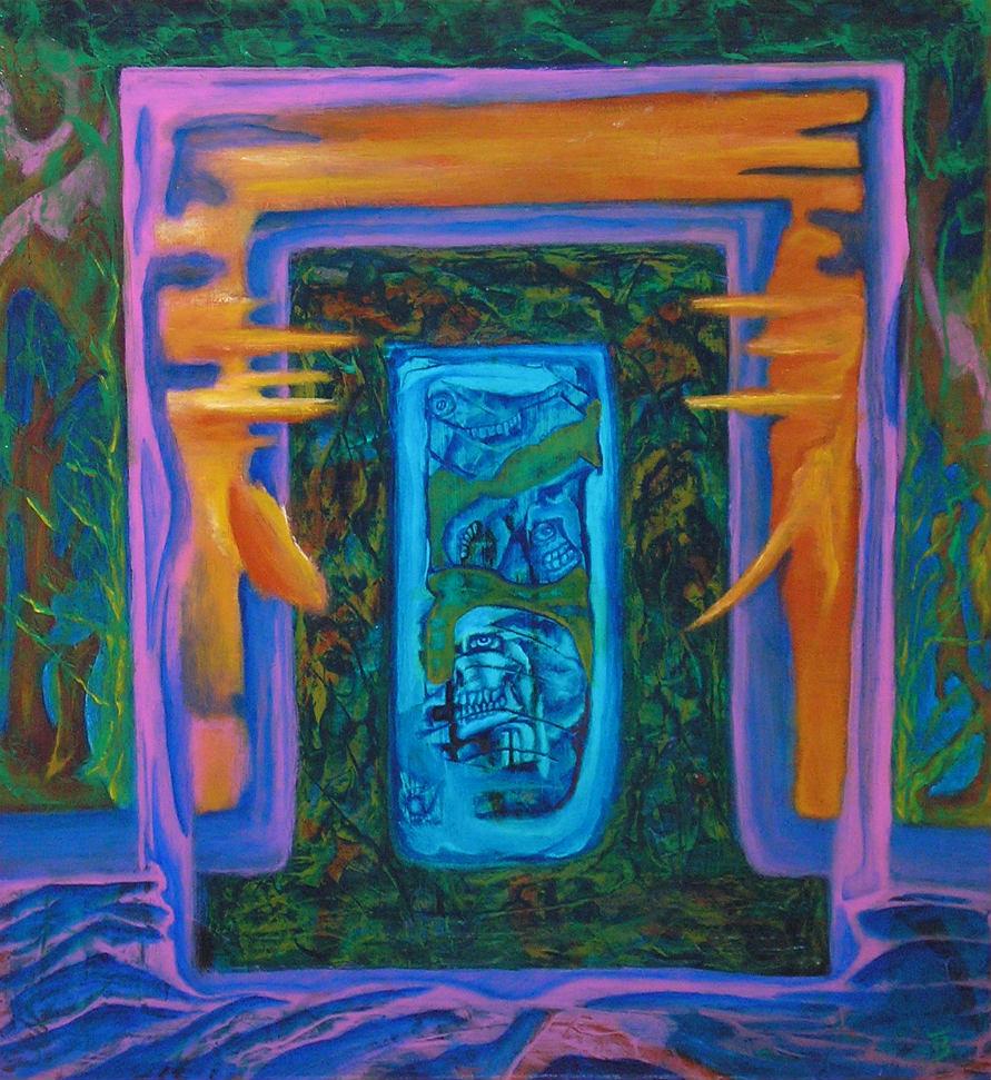 akryl-płyta, 45 x 45 cm