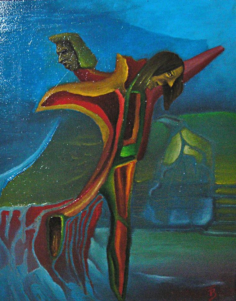 olej-płótno, 15 x 20 cm