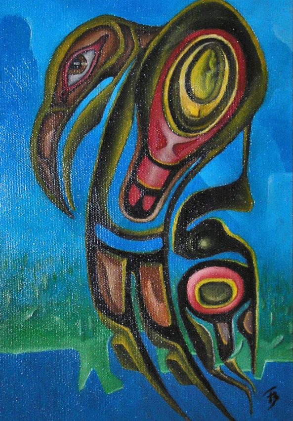 olej-płótno, 20 x 27 cm