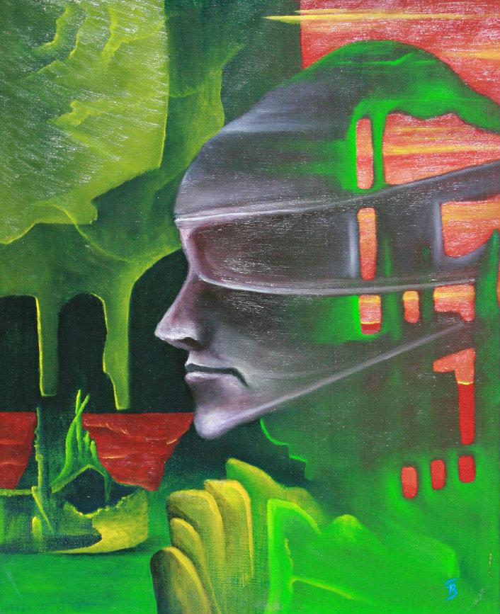 olej-płótno, 40 x 50 cm
