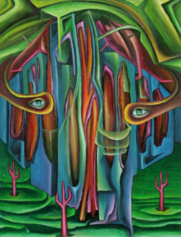 olej-płótno, 48 x 61 cm